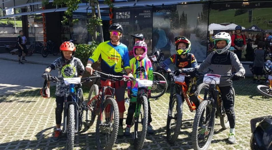 Radunion-Kids-im-Downhill-Thrill-